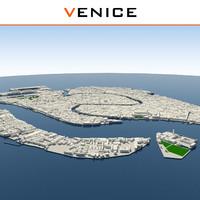 venice cityscape dwg