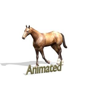 horse 1 3d model