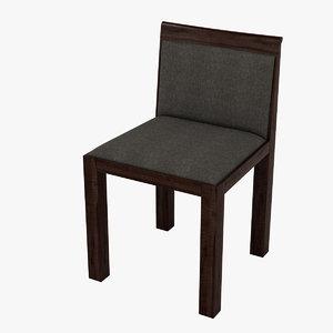 3d model molteni teatro chair