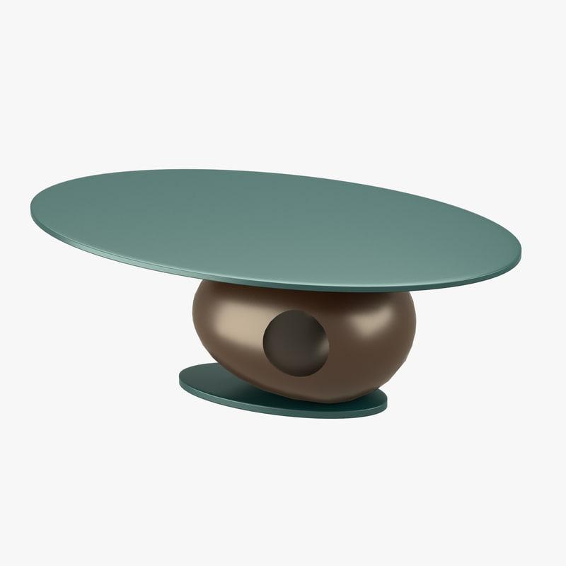 modern table obj