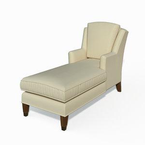 3d max juliette loose chaise