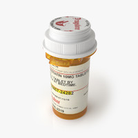 3ds max rexam prescription bottle pills