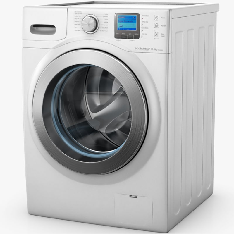 3ds samsung ecobubble washing machine