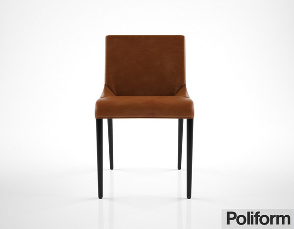 poliform seattle chair obj
