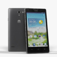 3d smartphone huawei ascend g700