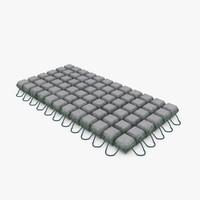 subsea mattress 3d model
