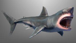 shark games 3d obj