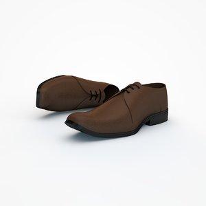 shoe 3d obj