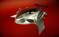 \\T//Alien Jet Car