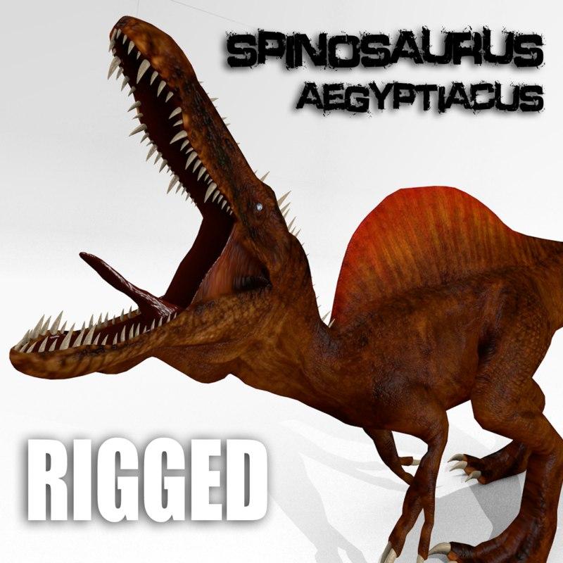 spinosaurus aegyptiacus spino 3d model