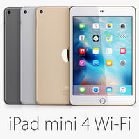 ipad mini 4 wi-fi 3d lwo