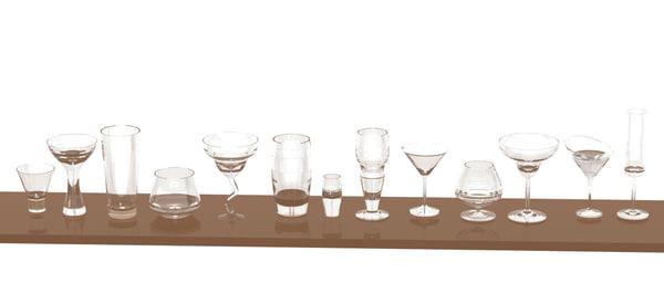 drinks glasses max