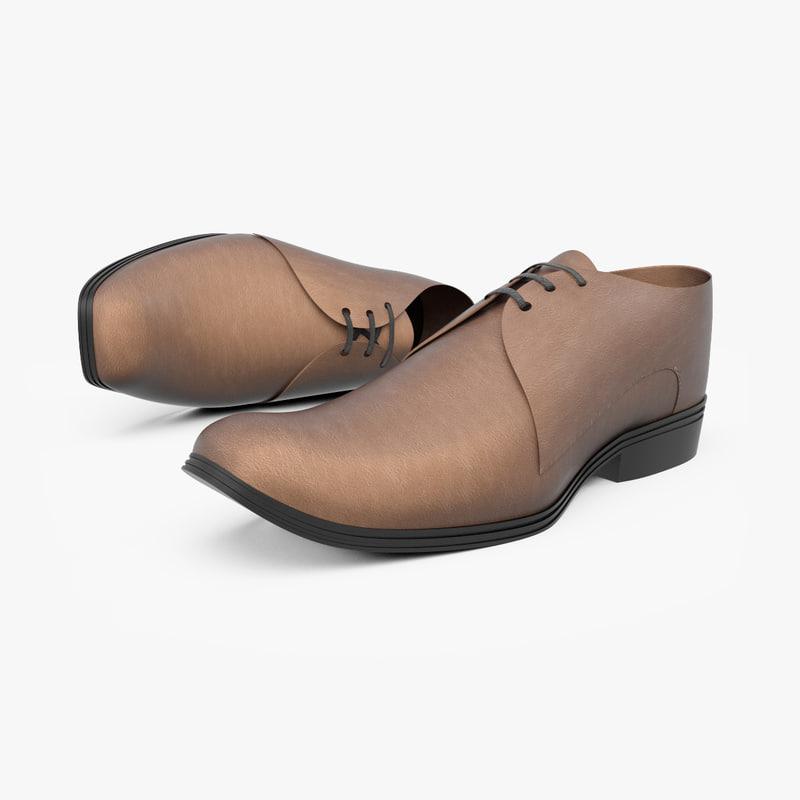 3d model of shoe
