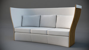 sofa hotel sezz st 3d model