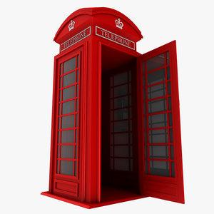british phone booth max