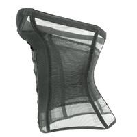 black transparant corset obj