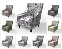 3d 3ds arm chair