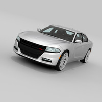 3ds max dodge charger 2015