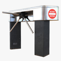 tripod turnstile 2 3d 3ds