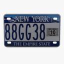 license plate 3D models