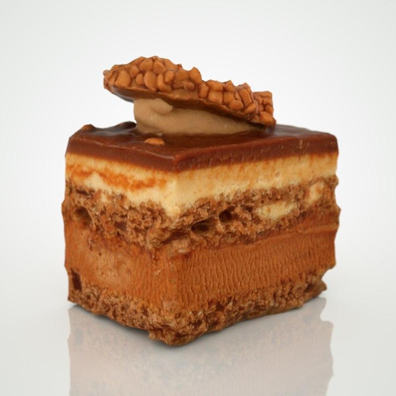 chocolate cookie sample 3d model