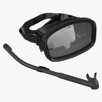 Scuba Mask and Snorkel 2