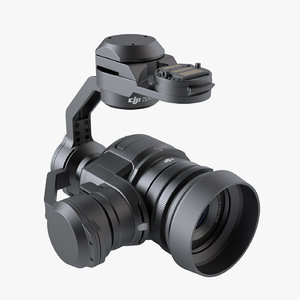 photoreal drone camera dji 3ds