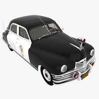 Packard 1948 Police