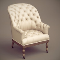 max valette upholstered chair