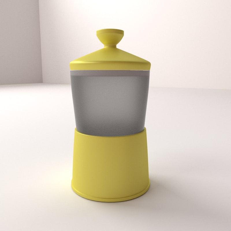3d half boiled egg maker model