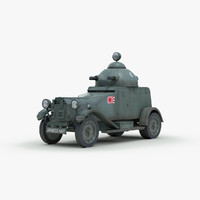 Vickers Crossley Armored Car Model 25