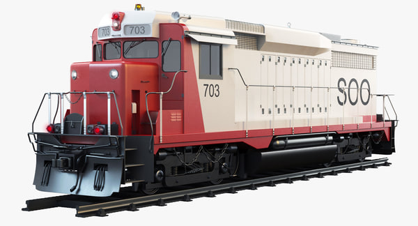 3d model gp30 soo 703 diesel