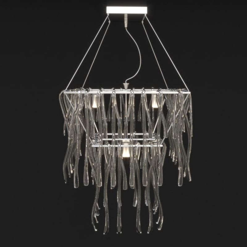 chandelier medusa 3d model