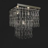 chandelier medusa 3d max