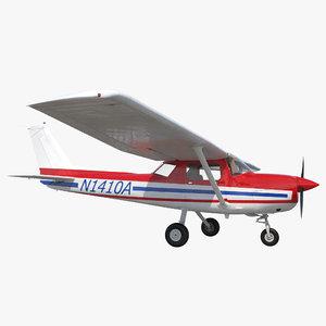 cessna 150 2 3d model