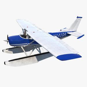 max cessna 150 seaplane rigged