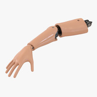 crash test dummy hand 3d model
