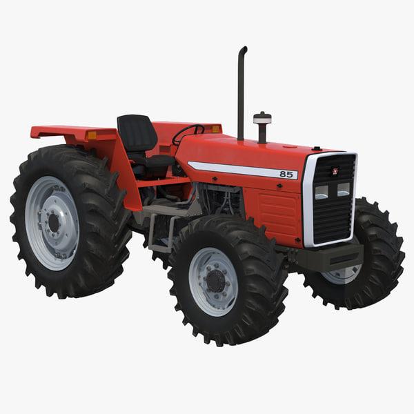 3d tractor generic 5 model