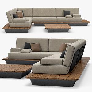 manutti - air sofa max