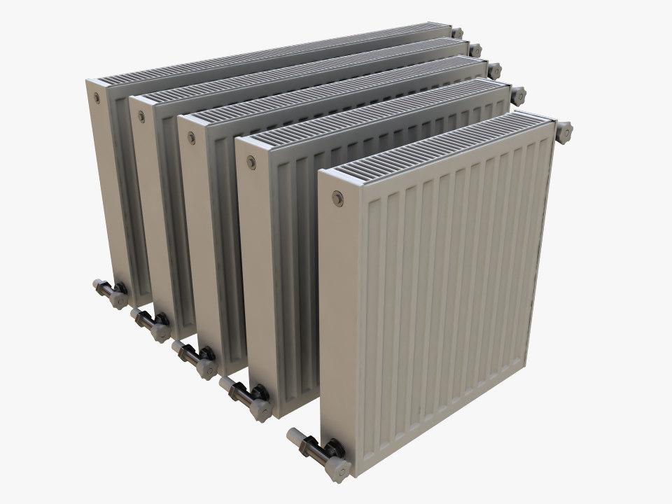 home radiator 3d max