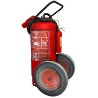 3d extinguisher wheels model