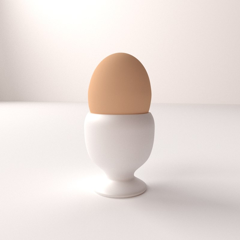3dsmax egg cup