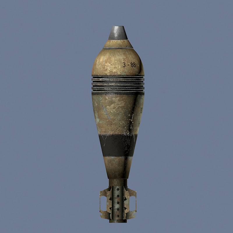 3ds mortar shell