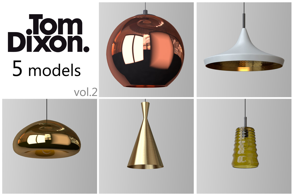 tom dixon set 2 3d obj