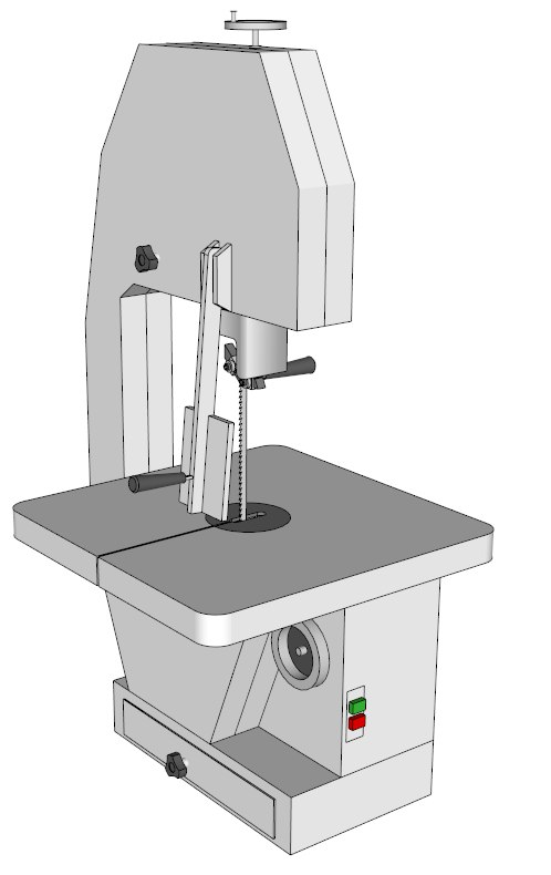 meat bone machines 3d model