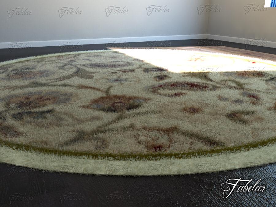 3d carpet modeled