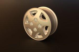 3d nissan primera rim model
