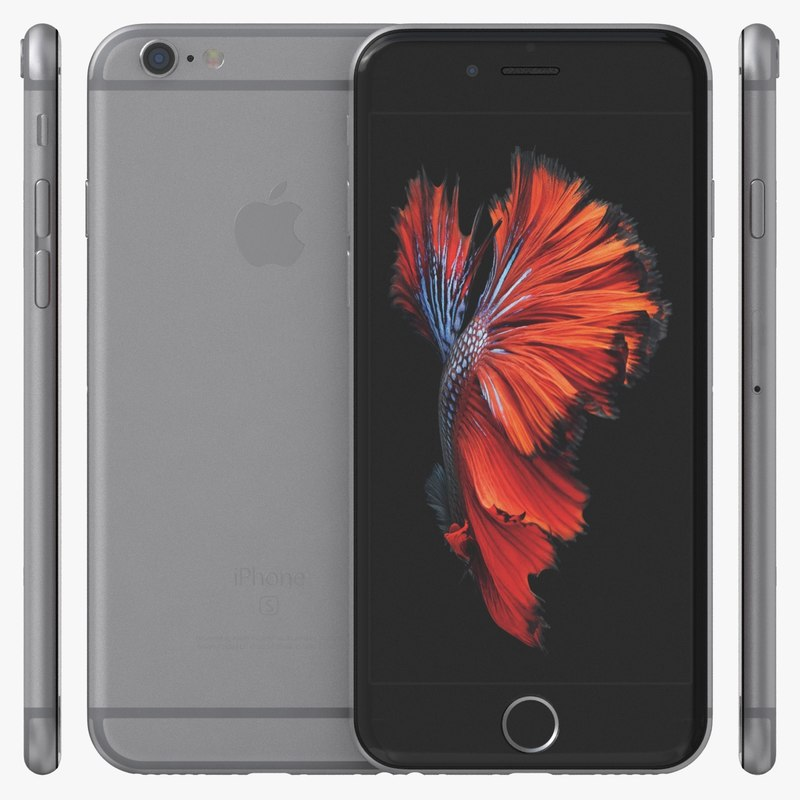 iphone 6s models 3d model apple iphone 6s space 11486