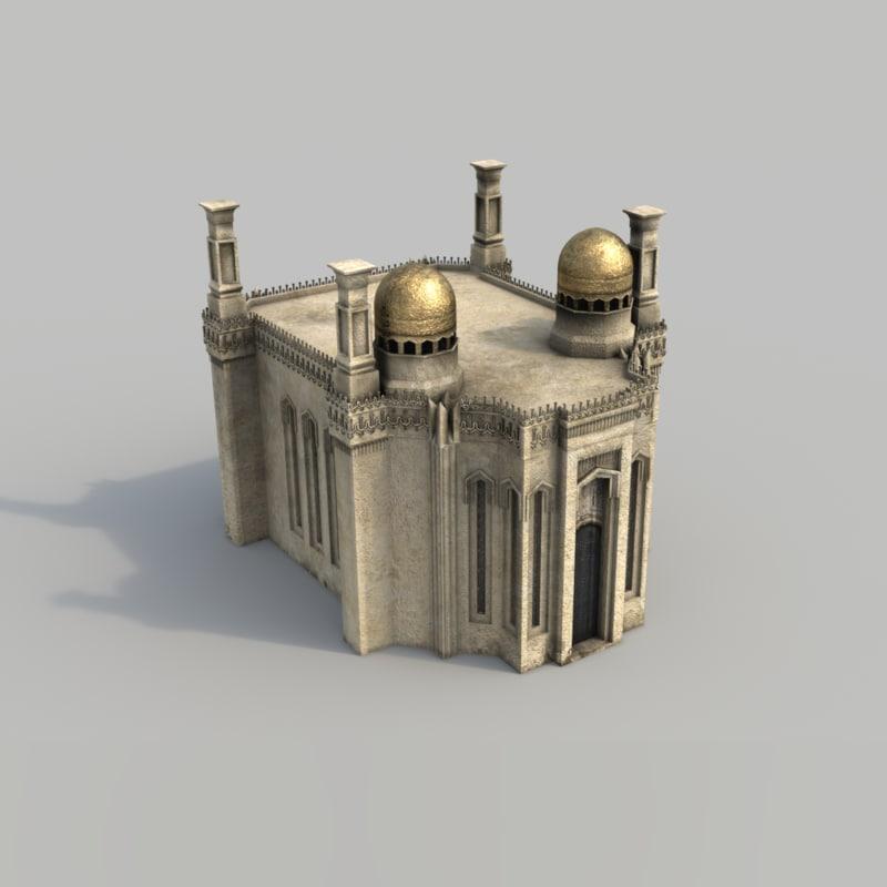 max buildings arabian city -