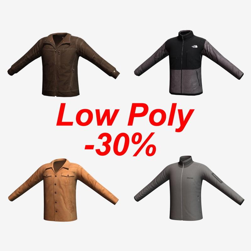 max jacket character cloth